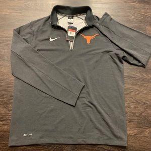 Men's Nike 1/4 zip (Texas Longhorns) NWT